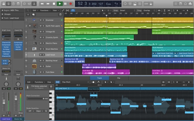 logic pro x 10.4 download size