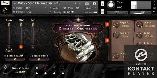 Versilian Studios Chamber Orchestra v2.6 Pro Edition KONTAKT