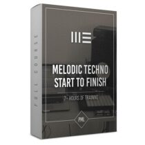 PML How to Make Melodic Techno Track From Start To Finish Course