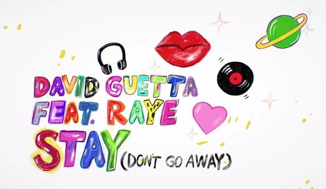 David Guetta ft Raye - Stay (Don't Go Away) [Acapella & Instrumental]