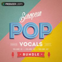 Producer Loops European Pop Vocals Bundle WAV MIDI