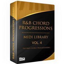 Tru-Urban The R&B Chord Progressions MIDI Library Vol. 4