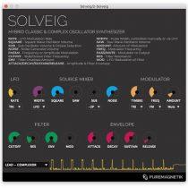 Puremagnetik Solveig v1.0.1 VST AU WiN OSX-DECiBEL