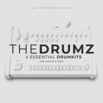 The Drumz - Essential Drumkits For Hip Hop & Trap WAV