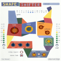 ShapeShifter v1.0 VST3 AU AAX (WIN & macOS)