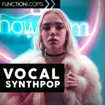 Vocal Synthpop Sample Pack WAV MIDI
