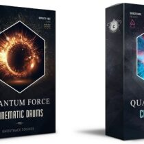 Ghosthack Sounds Quantum Force - Cinematic Drums 1-2 WAV