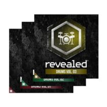 Revealed Drums Vol.1-3 WAV