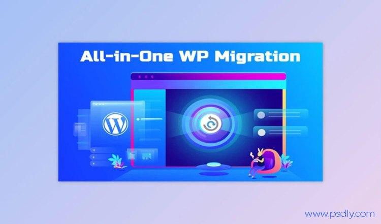 All-in-One WP Migration v7.17 + All-in-One WP Migration Premium Extensions Free
