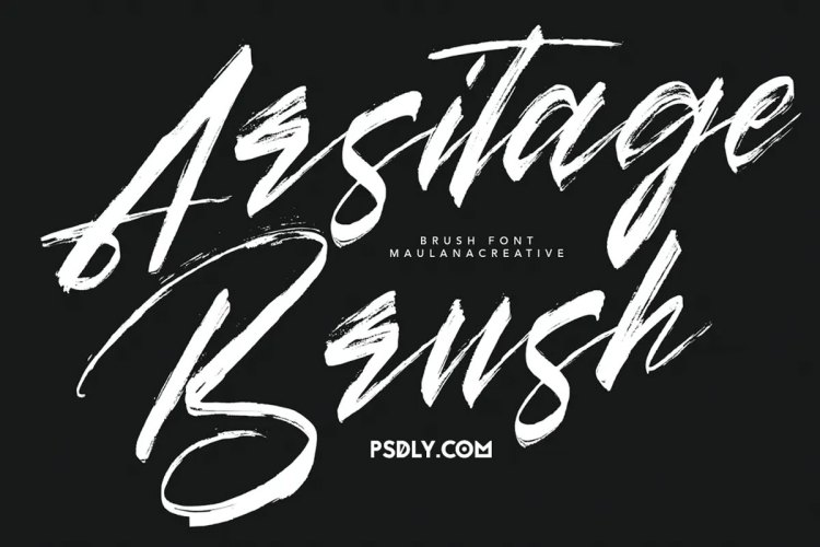 Download Arsitage Brush Font !-r2r free download - r2rdownload