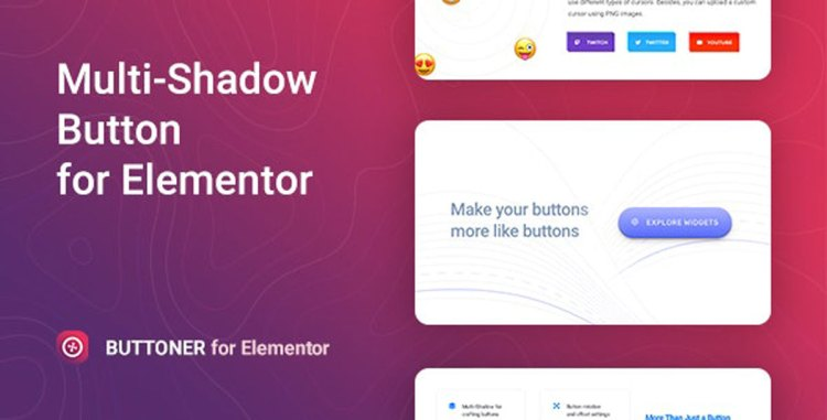 Buttoner – Multi-shadow Button for Elementor v1.0.0 – 27596105