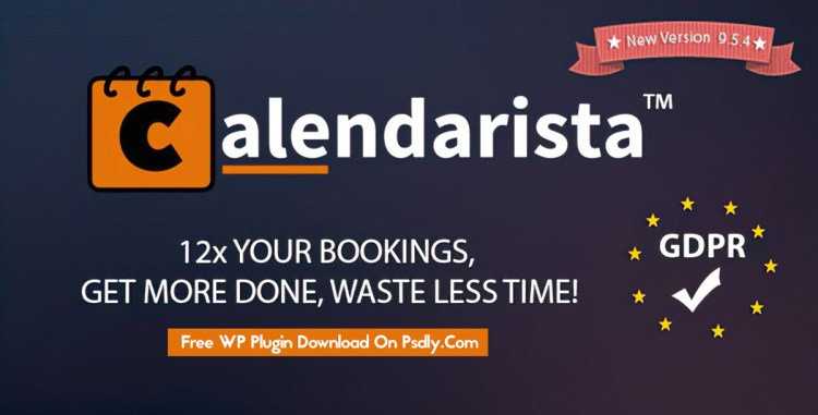 Calendarista Premium v9.5.3 – WP Appointment Booking Plugin and Schedule System 21315966