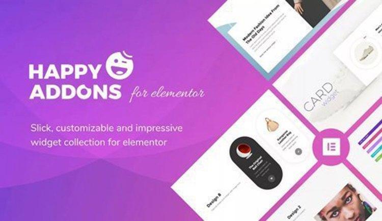 Happy Elementor Addons Pro v1.9.0 / Happy Elementor Addons v2.12.3