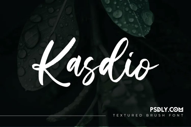Download Kasdio Casual Brush Font !-r2r free download - r2rdownload