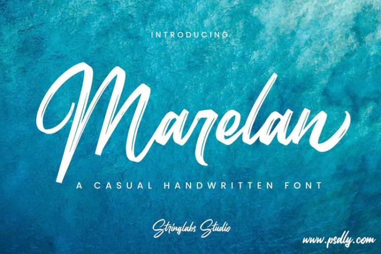 Download Marelan - Casual Handwritten Font!-r2r free download ...