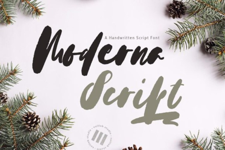 Download Moderna Script Font-r2r free download free download ...