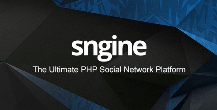 Sngine v2.8 – The Ultimate PHP Social Network Platform – 13526001