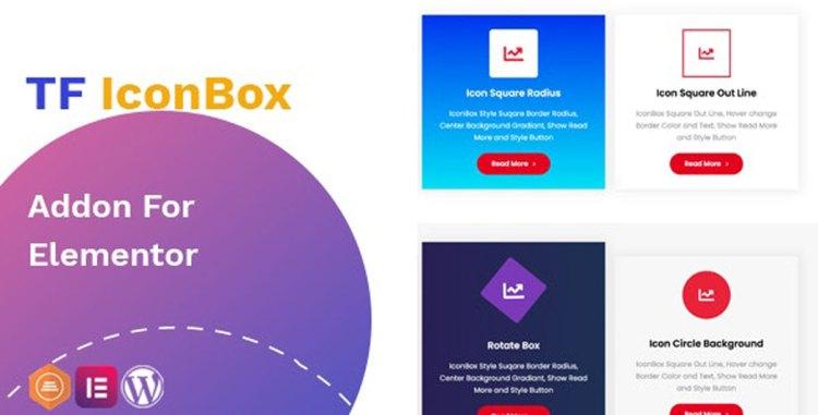 TF IconBox Addon for elementor v1.0.0 – 27562255