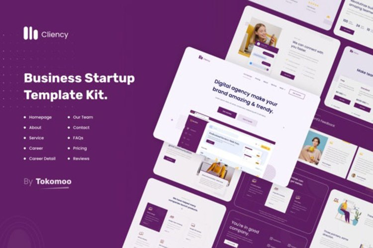 ThemeForest Clientcy v1.0 Business & Startup Elementor Template Kit 27718327