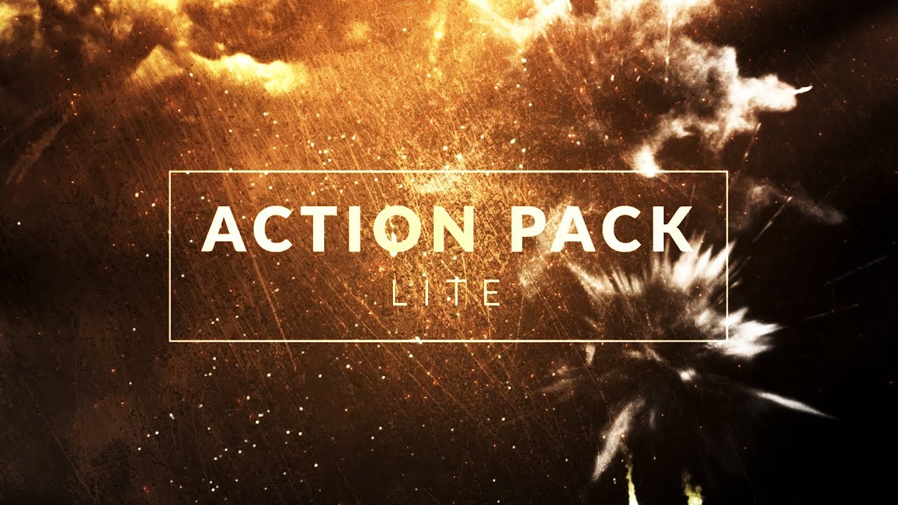 Action Pack Lite: 25 Free Action Compositing Elements