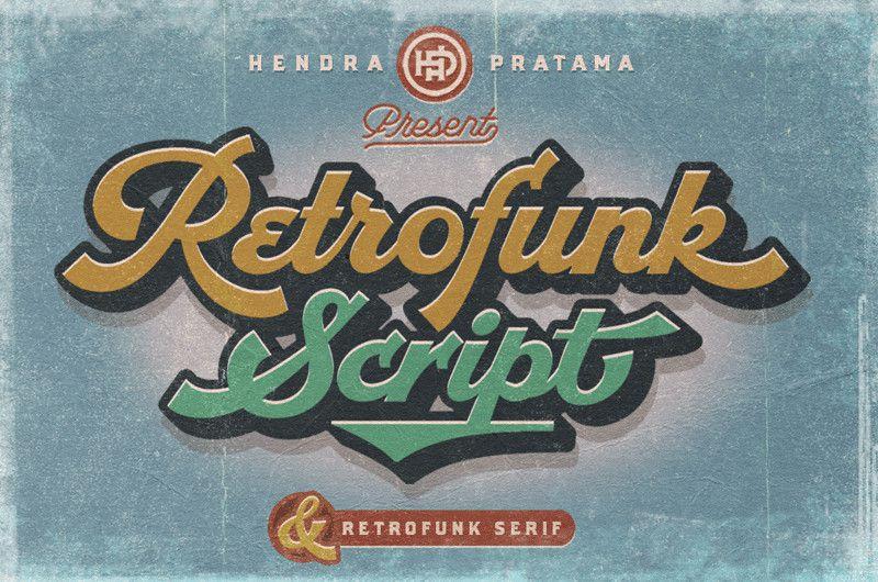 Retrofunk Script Font !