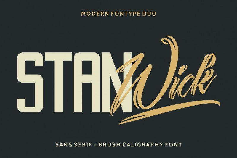Stanwick Font Duo !