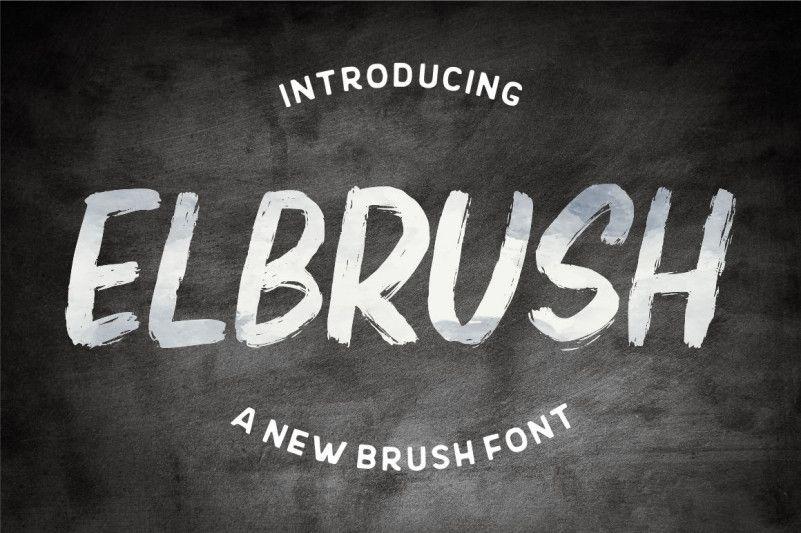 Download Elbrush Font ! free download r2rdownload