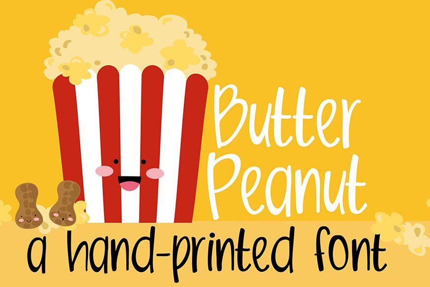 Butter Peanut Font !