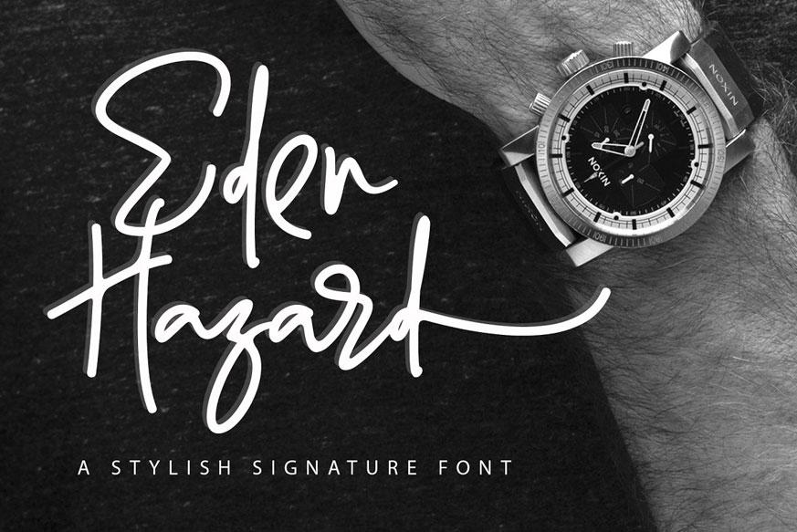 Eden Hazard Font !