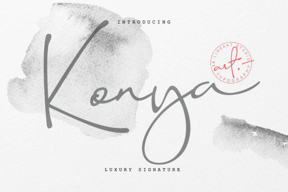 Konya Signature Font !