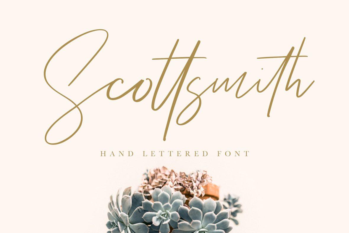 Scottsmith Font !