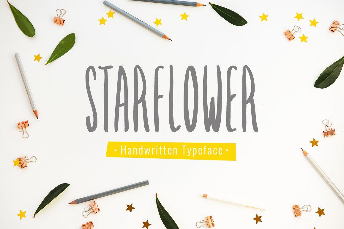 Starflower Font !